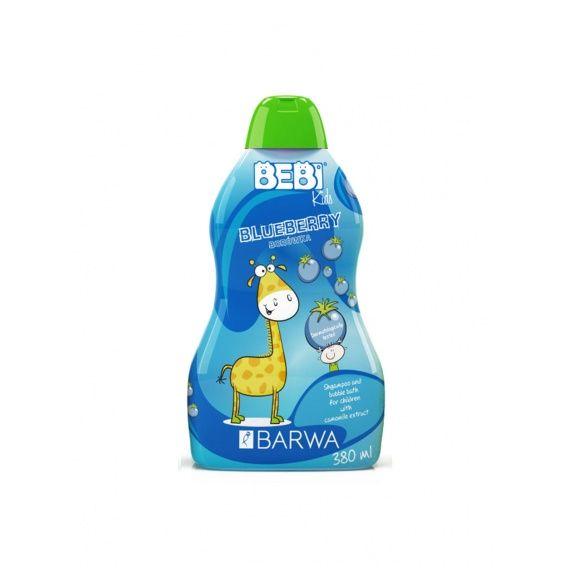 Szampon i płyn do kąpieli dla dzieci 2w1 Jagoda